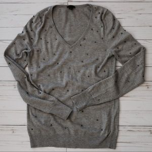 Anne Taylor Sweater with rhinestones